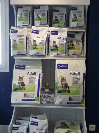 Nutrition chat, clinique vétérinaire de la Fure