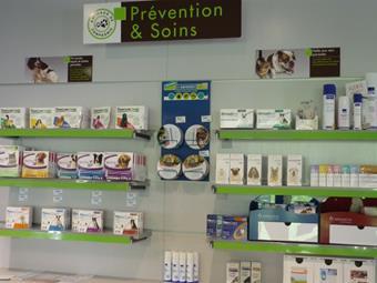 Service hygiène et soins, clinique vétérinaire de la Fure